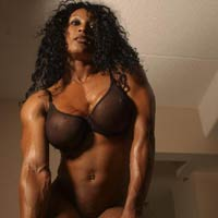 strong, hot muscle women with big clitoris